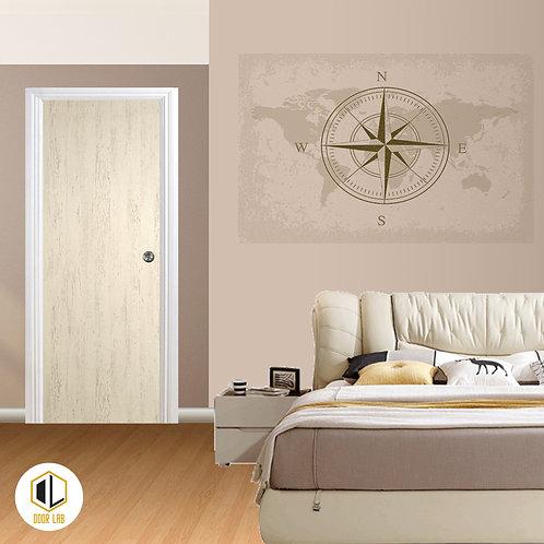 Solid Laminate Bedroom Door - Foggy