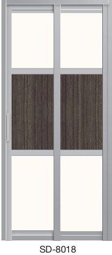 Slide & Swing Door SD-8018
