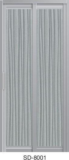 Slide & Swing Toilet Door SD-8001
