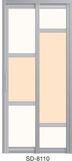 Slide & Swing Door SD-8110