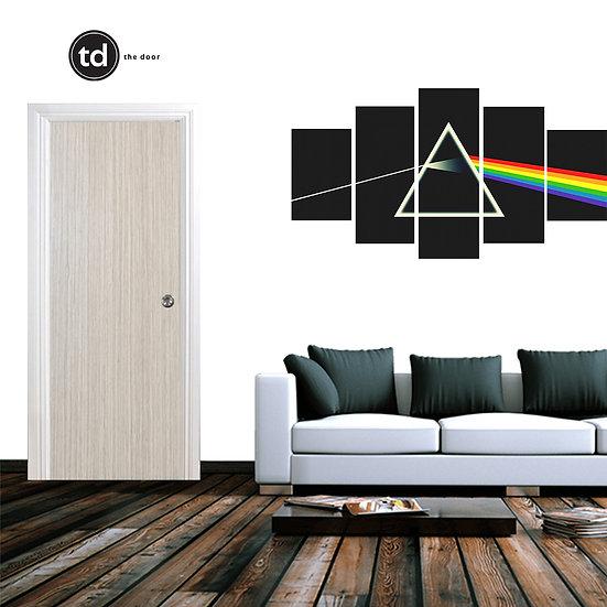Laminate Solid Bedroom Door- TDND1 Wheat Strand