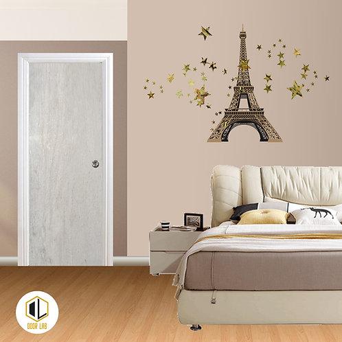 Solid Laminate Bedroom Door - Timber
