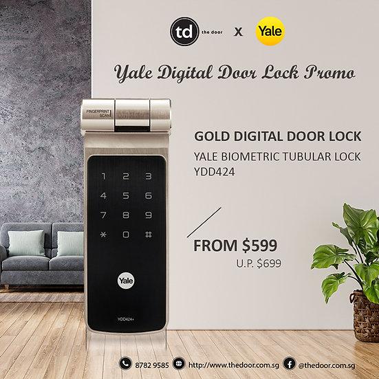 Yale Biometric YDD424+ Digital Door Lock