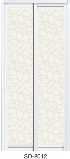 Slide & Swing Toilet Door SD-8012