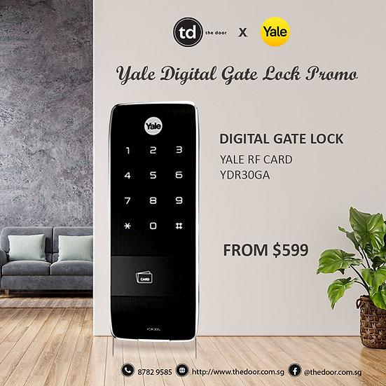 Yale YDR30GA Digital Gate Lock