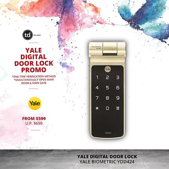 Yale Biometric YDD424 Digital Door Lock