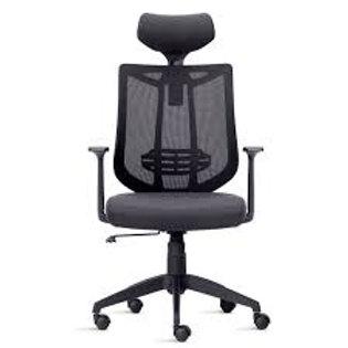 Cadeira Presidente AIKA com apoio de cabeça