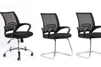 Kit Cadeiras Escritório Manchester