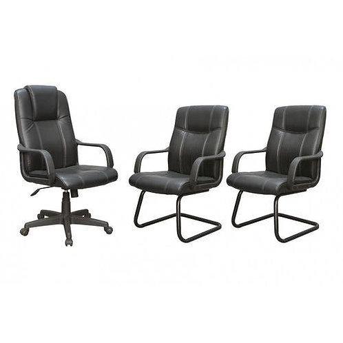 Kit cadeiras para escritório pel-229H/V