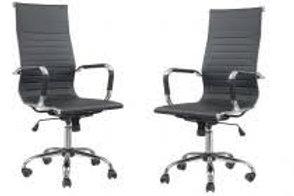 Kit Cadeira Presidente giratória Manhatan