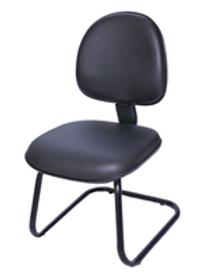 Cadeira fixa executivapé em S