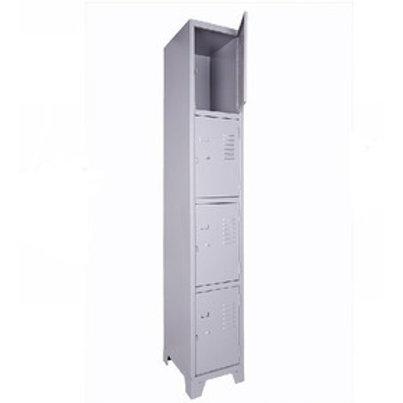 Armário de Aço vestiário Roupeiro Loker 4 portas