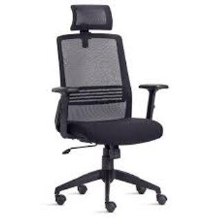 Cadeira giratória Presidente tela encosto cabeça joy