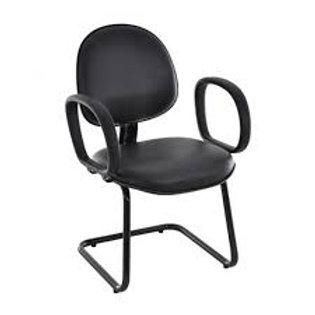 Cadeira fixa executiva interlocutor com braço corsa