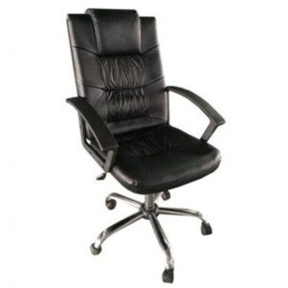 Cadeira Escritório Presidente Giratória com braços Boston Alta
