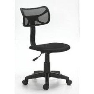 Cadeira giratória secretaria tela mesh regulagem de altura