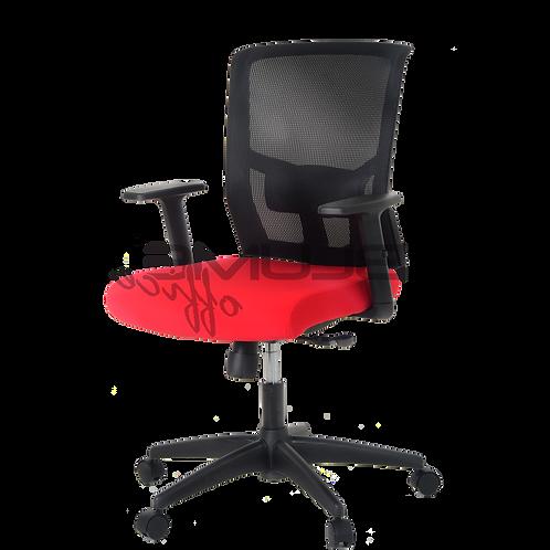 Cadeira giratória Diretor com braços tela mesh
