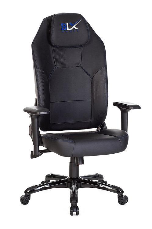Cadeira Gamer giratória regulagem altura Led