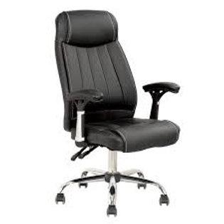 Cadeira Presidente giratória estofada com braços