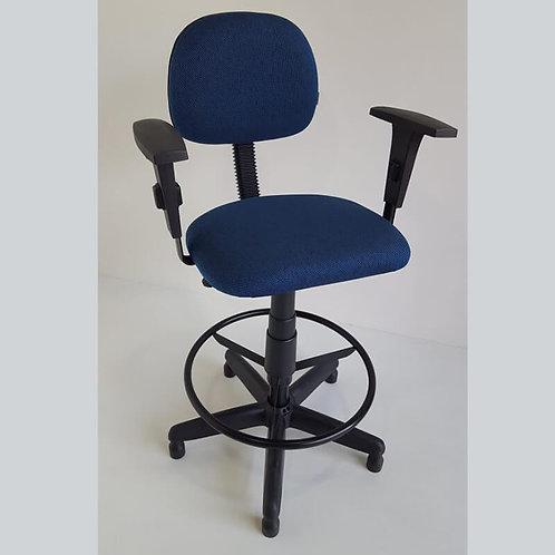 Cadeira caixa giratória secretaria regulagem de altura