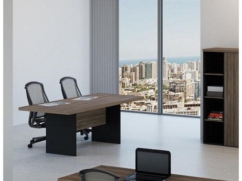 Mesa de reuniões quadrada tampo 40mm