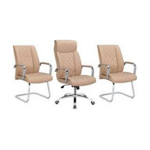 Kit Cadeiras de escritório luxo