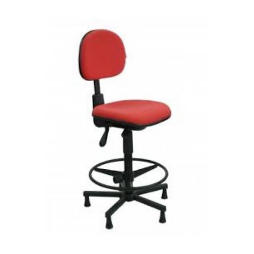 Cadeira caixa giratória secretaria regulagem lombar