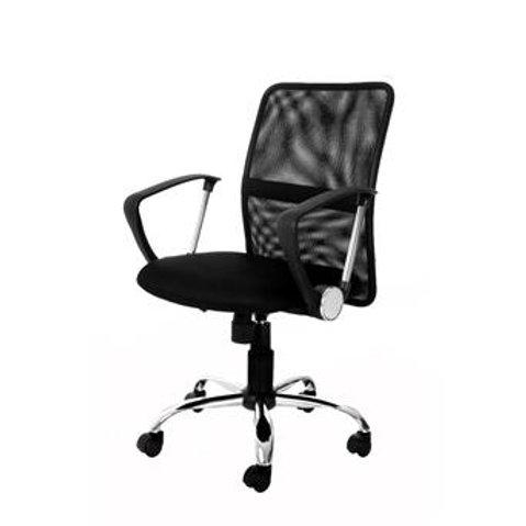 Cadeira giratória Diretor Tela mesh com braços
