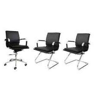 Kit cadeiras de escritório