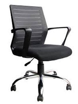 Cadeira Diretor giratória Tela Mesh com braços