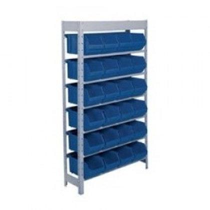 Expositor de aço ferramentas 24 caixa box n7