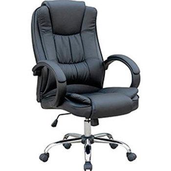 Cadeira giratória Presidente injetado em couro ecológico