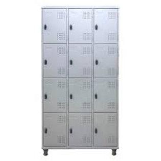 Roupeiro de aço Armário vestiário loker 12 portas pitao cadeado