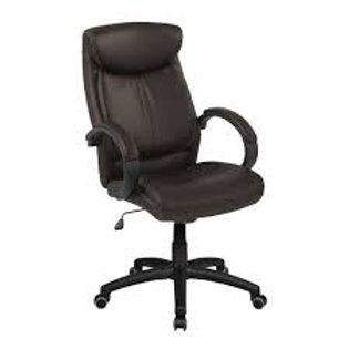 Cadeira Presidente giratória em Couro PU