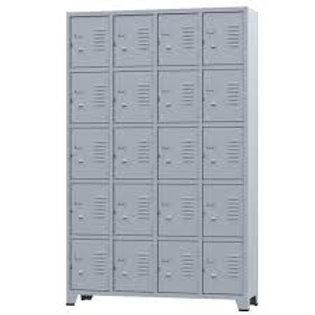 Armário vestiário Roupeiro De Aço Locker 20 Portas