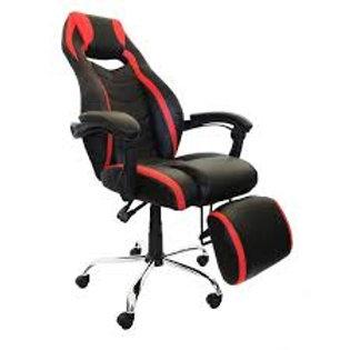 Cadeira giratória Presidente GAMER em Couro PU Reclinavel PEL-C215