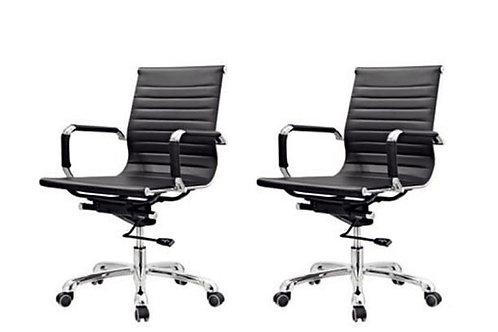 Kit 2 Cadeiras giratórias Diretor Office Chair