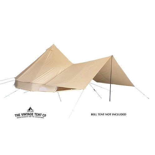 5M Bell Tent Awning
