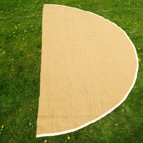 Single Semi-circle Half Moon Coir Mat 5.9m