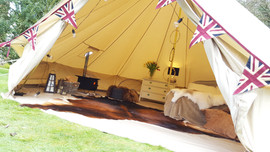 Great Bell Tent Setup
