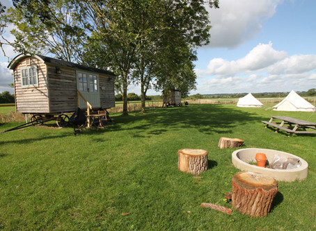 Glamping it up at the UK's coolest campsites!