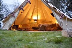 5m bell tent pro