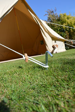 Canvas Bell Tent Guy Ropes