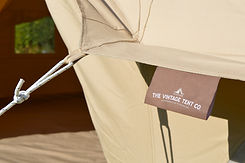 Canvas Bell Tent Rain Canopy