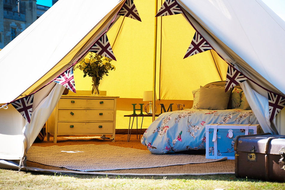 Canvas Bell Tent For Hire