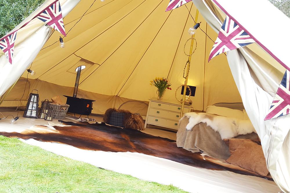 6m pro bell tent