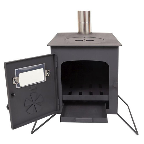 Woodburning Stove + Flashing Kit