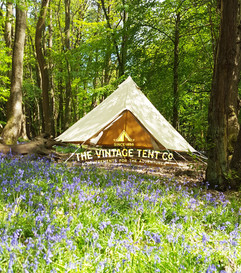 4m bell tent the vintage tent company