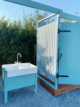 'buy glamping shower and toilet unit