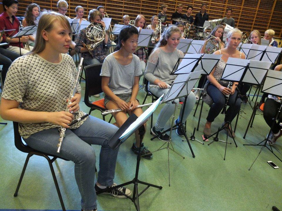 Konsentrerte fløytister